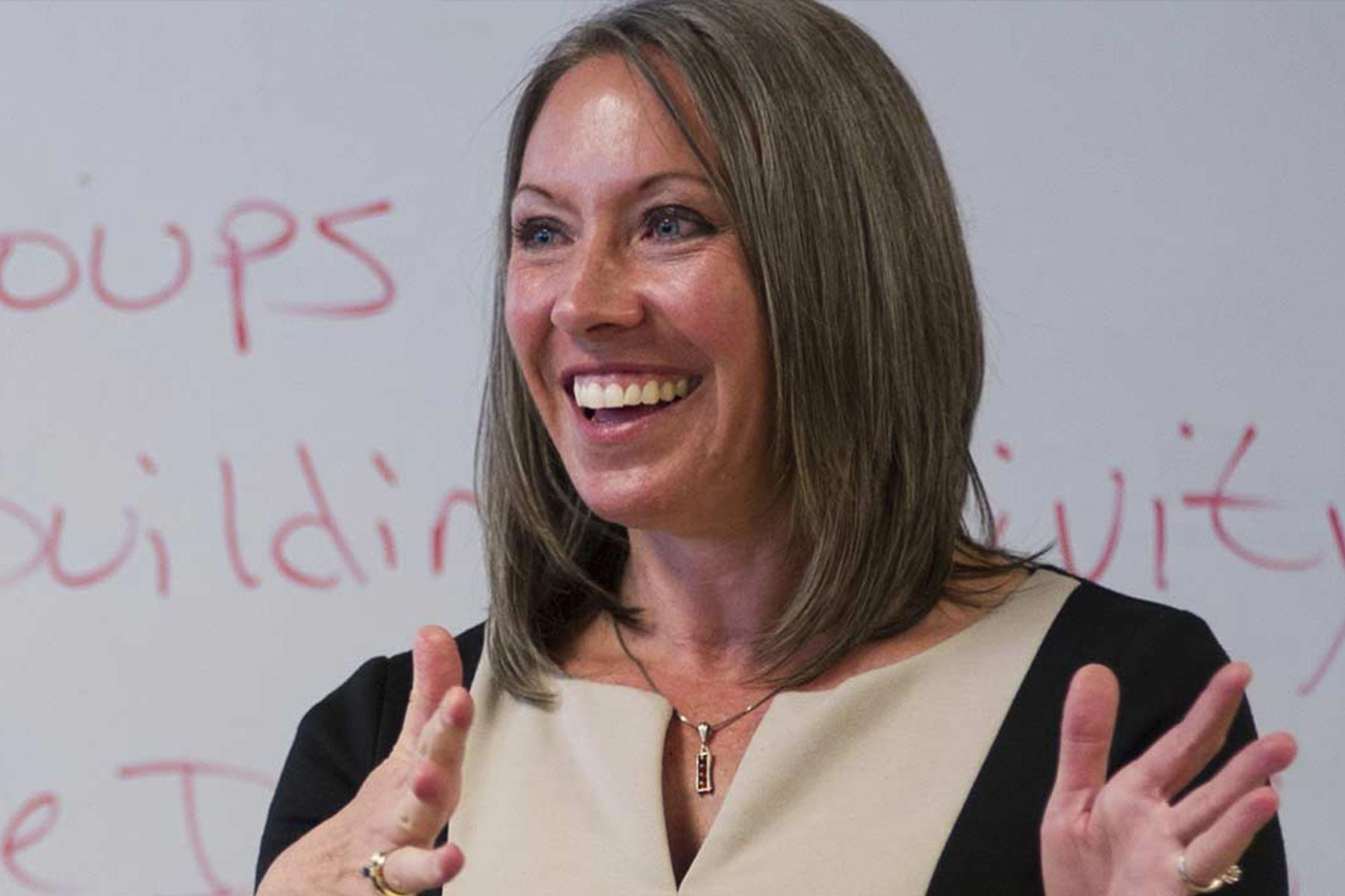 Shana Runck teaching